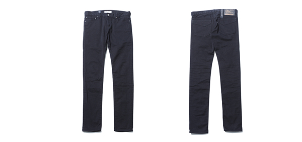 RUDE GALLERY / STRETCH SLIM PANTS - KUROSURI SERIES MADE IN OKAYAMA ルードギャラリー