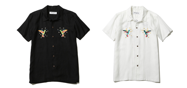 RUDE GALLERY / MARIACHI OPEN COLLAR SHIRT ルードギャラリー