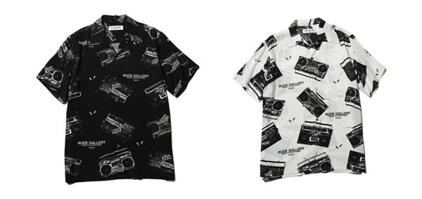 RUDE GALLERY / RADIO ALOHA SHIRT ルードギャラリー