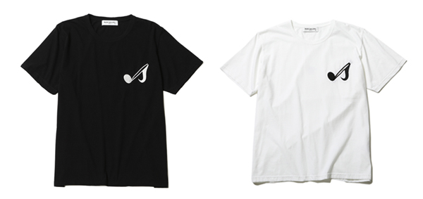 RUDE GALLERY / ONPU PKT TEE - MUSIC NOTE ルードギャラリー
