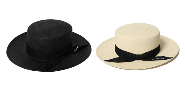 RUDE GALLERY / BOATER HAT - STETSON COLLABORATION ルードギャラリー