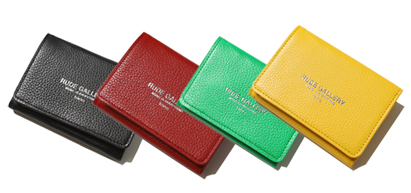 RUDE GALLERY / LEATHER SHORT WALLET ルードギャラリー