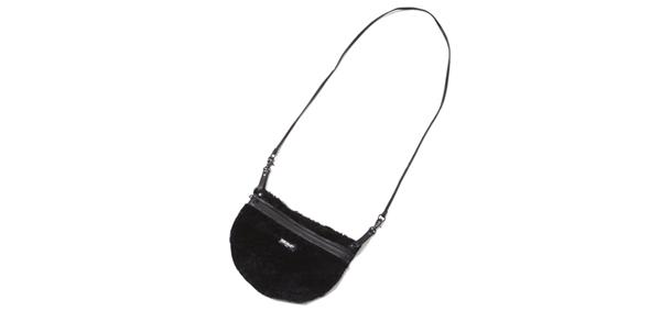 RUDE GALLERY / BLACK SHEEP APRON BAG - SCRAP MOUTON ルードギャラリー
