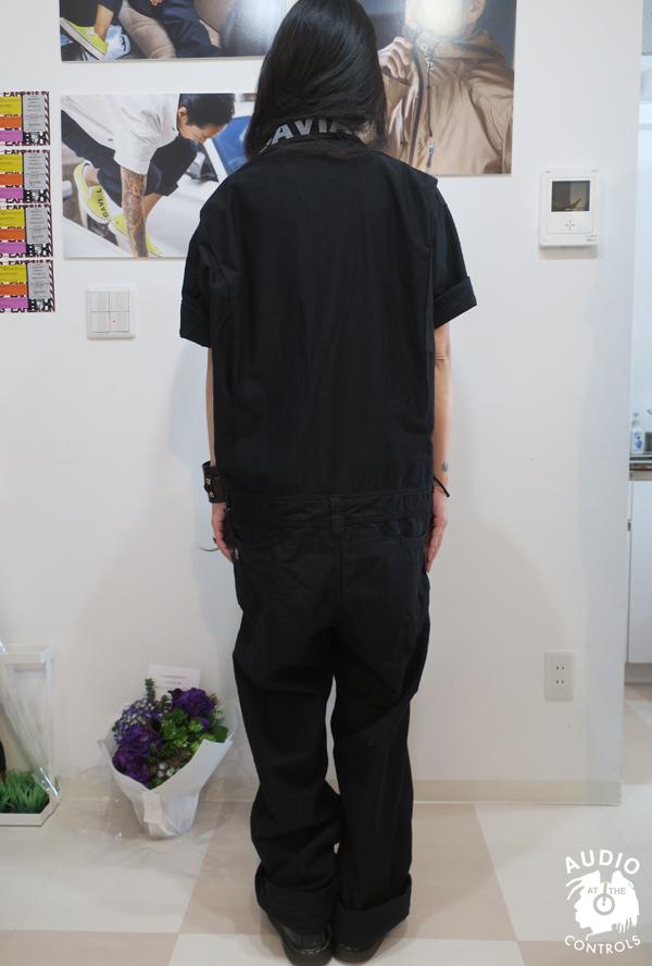 GAVIAL / SS JUMP SUIT 02 中村達也