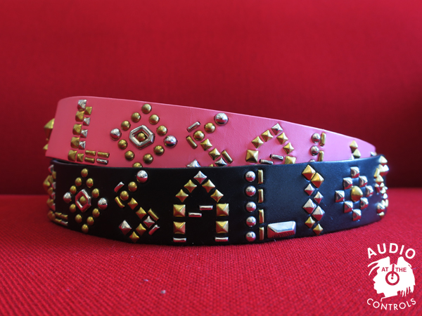 "GAVIAL / LEATHER STUDS BELT ""LOSALIOS"" 中村達也"