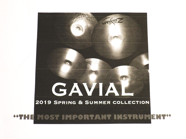 GAVIAL 2019 SPRING&SUMMER COLLECTION 中村達也