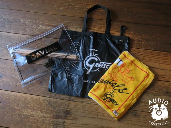 TATSUYA NAKAMURA hand‐written signature drum sticks with CASE 中村達也