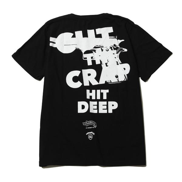 Sundinista Experience / CUT CRAP - T-shirts - BLACK チバユウスケ