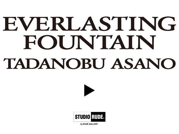 RUDE GALLERY / EVERLASTING FOUNTAIN - TEE1<TADANOBU ASANO×STUDIO RUDE> 浅野忠信