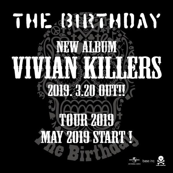 The Birthday New Album 『VIVIAN KILLERS』