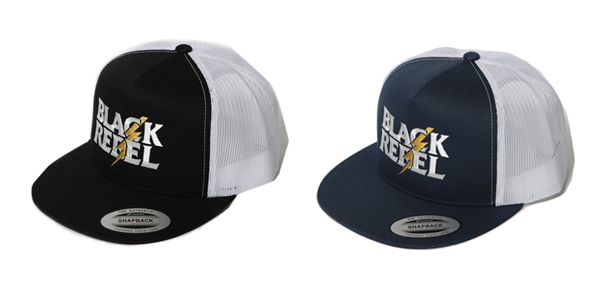 RUDE GALLERY BLACK REBEL / REBELS LIGHTNING TRACKER CAP ルードギャラリーブラックレベル