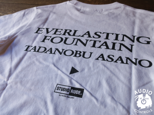 RUDE GALLERY / EVERLASTING FOUNTAIN - TEE1<TADANOBU ASANO×STUDIO RUDE>
