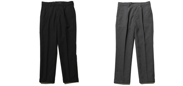 RUDE GALLERY / TUCK TROUSERS ルードギャラリー