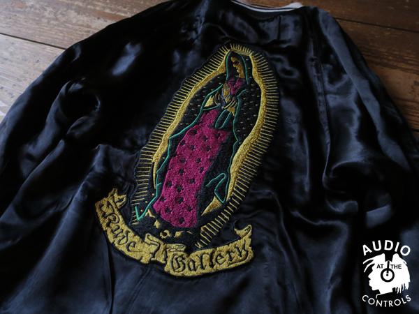 RUDE GALLERY / TIBETAN SKULL × MARIA SOUVENIR JKT <ART WORK by H.U.>