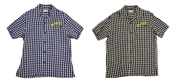 GAVIAL / S/S OPEN SHIRTS - CHECK 中村達也
