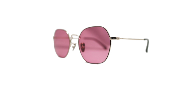 Mr.CASANOVA / SALLY(Brown×Gold / Pink Lens)