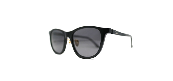 Mr.CASANOVA / BUZZ(Black / Black Smoke Polarized Lens)