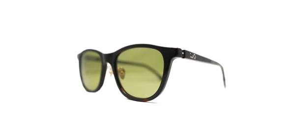 Mr.CASANOVA / BUZZ(Dark Brown Demi / Yellow Green Polarized Lens)