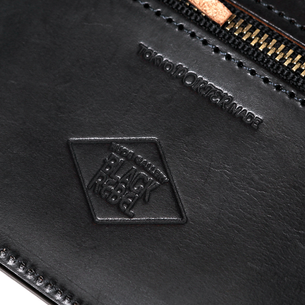 RUDE GALLERY BLACK REBEL / DIA QUILTED LEATHER WALLET