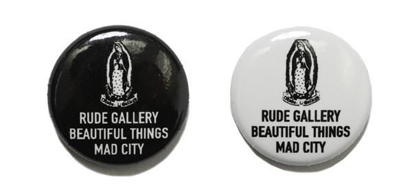 RUDE GALLERY / CAN BADGE - MARIA ルードギャラリー