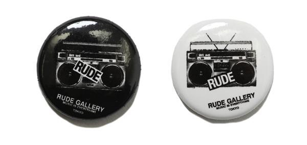 RUDE GALLERY / CAN BADGE - RADIO ルードギャラリー