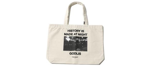 RUDE GALLERY / HISTORY IS MADE AT NIGHT TOTE BAG ルードギャラリー
