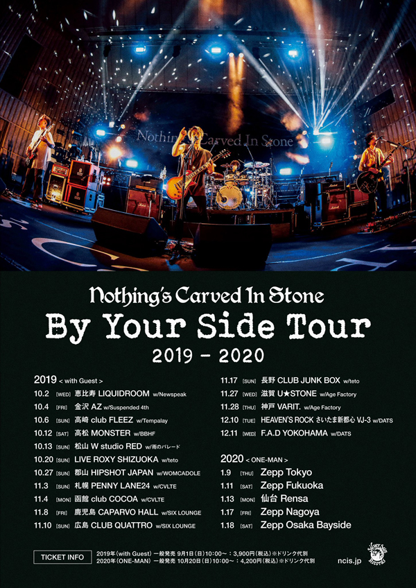 Nothings Carved In Stone「By Your Side」