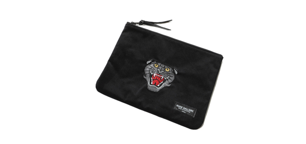 RUDE GALLERY / STUDIO POUCH - PANTHER FACE ルードギャラリー