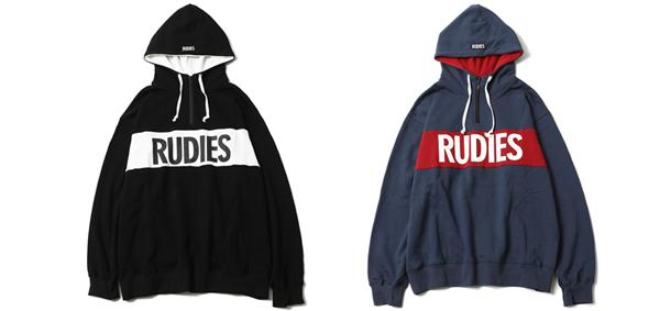 RUDIES / PHAT HALFZIPHOOD SWEAT ルーディーズ