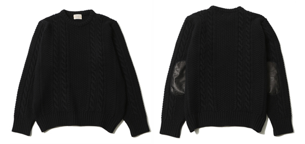 RUDE GALLERY BLACK REBEL / CABLE KNIT ルードギャラリー