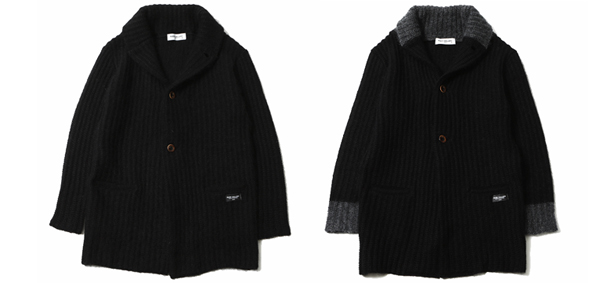 RUDE GALLERY / SHAWL COLLAR CARDIGAN ルードギャラリー