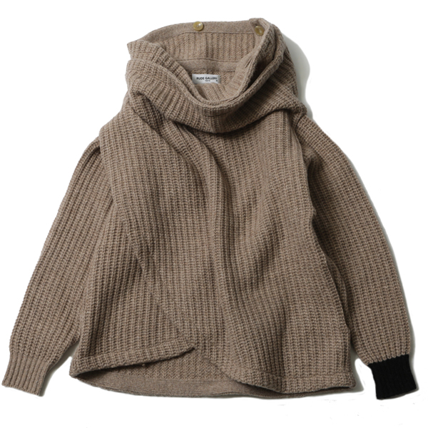 RUDE GALLERY / HIGH NECK KNIT ルードギャラリー