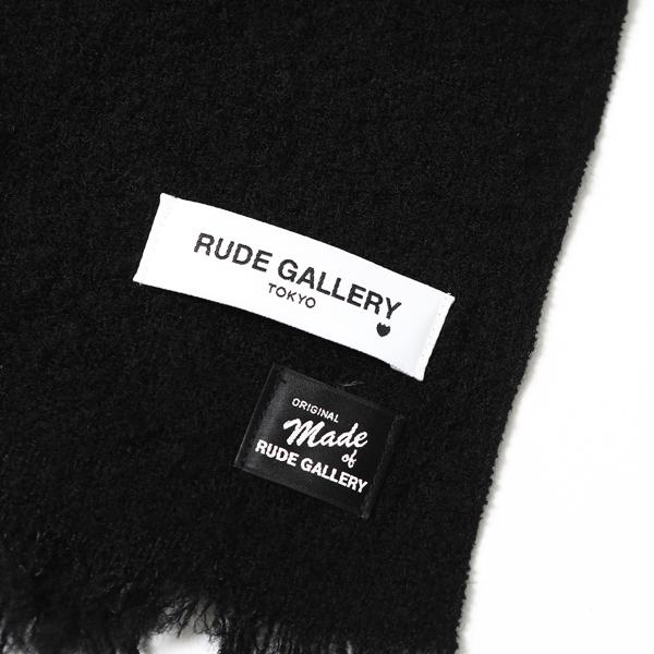RUDE GALLERY / WOOL MUFFLER ルードギャラリー