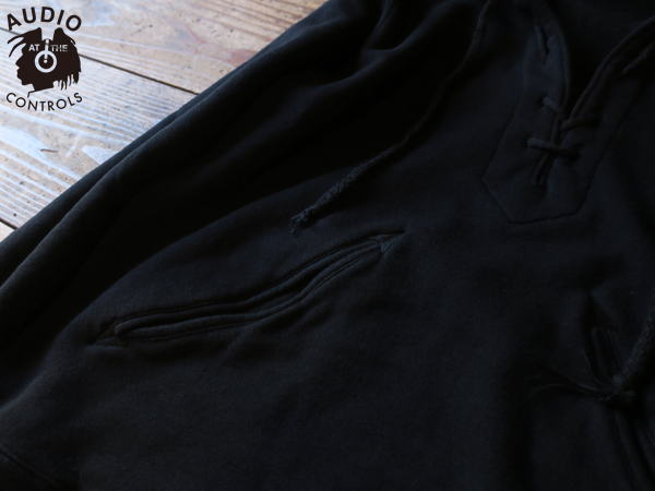 RUDE GALLERY / LACE UP PARKA - BACK ルードギャラリー