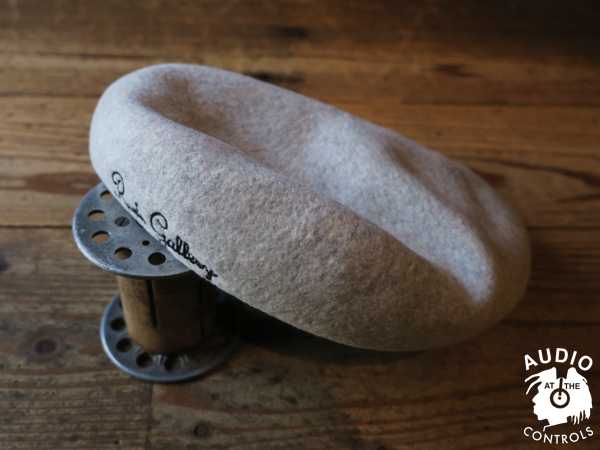 RUDE GALLERY / LOGO EMBROIDERED WOOL BERET ルードギャラリー
