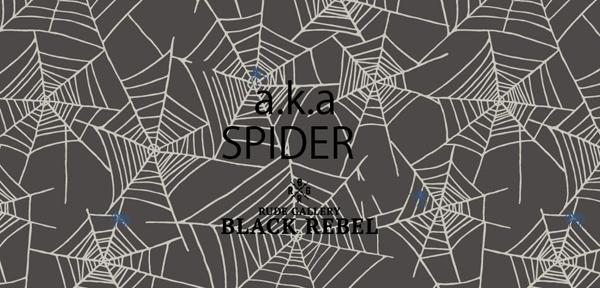 RUDE GALLERY BLACK REBEL 2020 SPRING&SUMMER「a.k.a SPIDER」