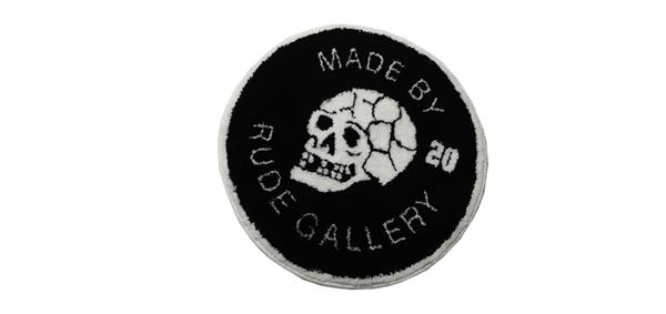 RUDE GALLERY / 20 SKULL RUG MAT ルードギャラリー