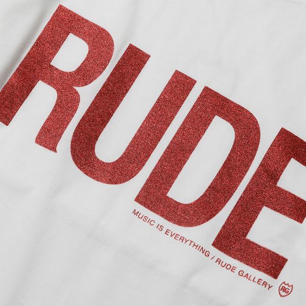 RUDE GALLERY / RUDE BIG SILHOUETTE TEE ルードギャラリー
