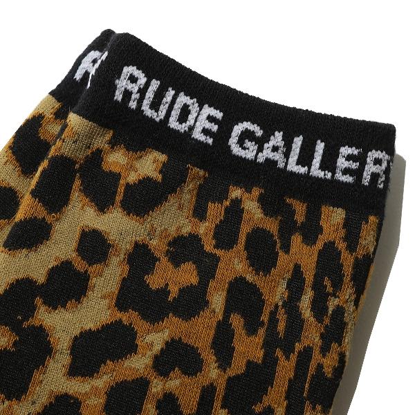 RUDE GALLERY / LEOPARD SOCKS