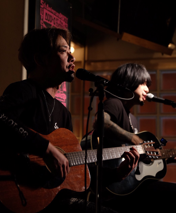 "AUDIO 13th ANNIVERSARY PARTY""AUDIOLOCKS""02「村松拓×生形真一 ACOUSTIC LIVE」"
