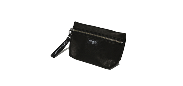 RUDE GALLERY / LEATHER MAKE UP BAG