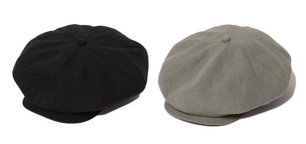 RUDE GALLERY / BIG CASQUETTE - LINEN