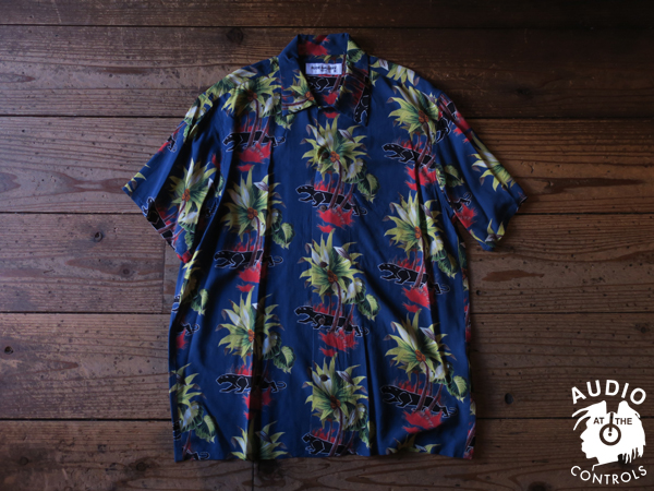 "RUDE GALLERY / BLACK PANTHER CAFE ALOHA SHIRT ""REMASTER"""