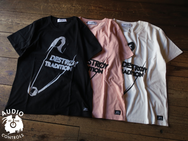 DESTROY TRADITION BIG PIN BIG SILHOUTTE TEE