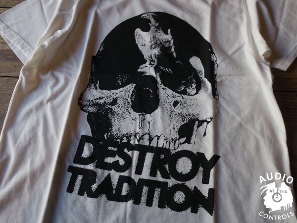 RUDE GALLERY / DESTROY TRADITION SKULL BIG SILHOUTTE TEE