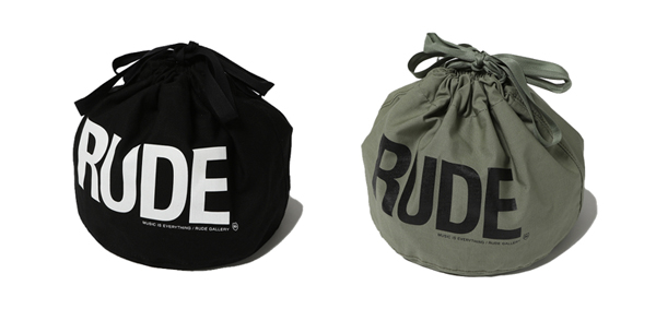 RUDE GALLERY / RUDE PERSONAL EFFECTS BAG ルードギャラリー