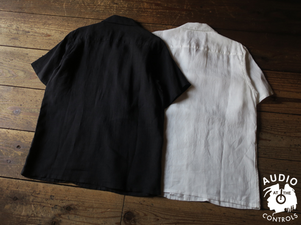 RUDE GALLERY / RUDE EMBROIDERED OPEN COLLAR SHIRT
