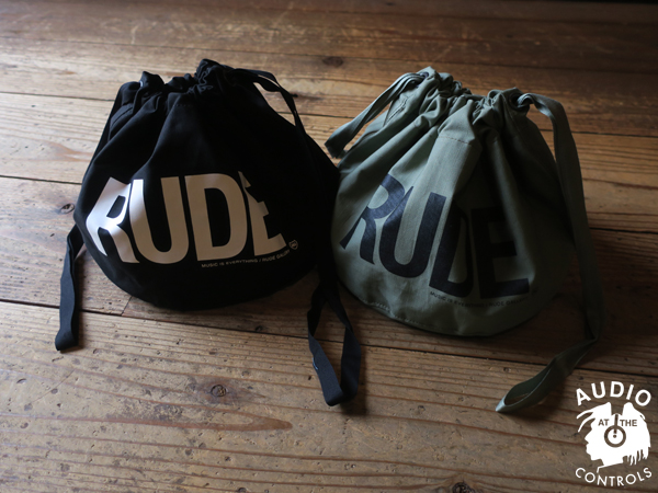 RUDE GALLERY / RUDE PERSONAL EFFECTS BAG