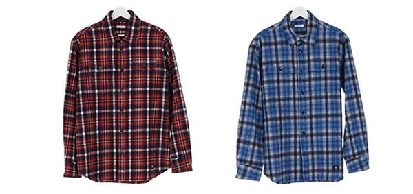 GAVIAL / L/S FLANNEL SHIRTS