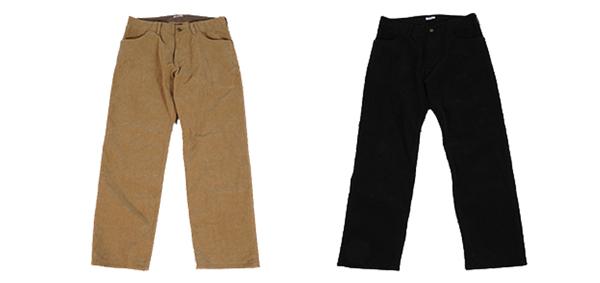 GAVIAL / WIDE CORDUROY PANTS